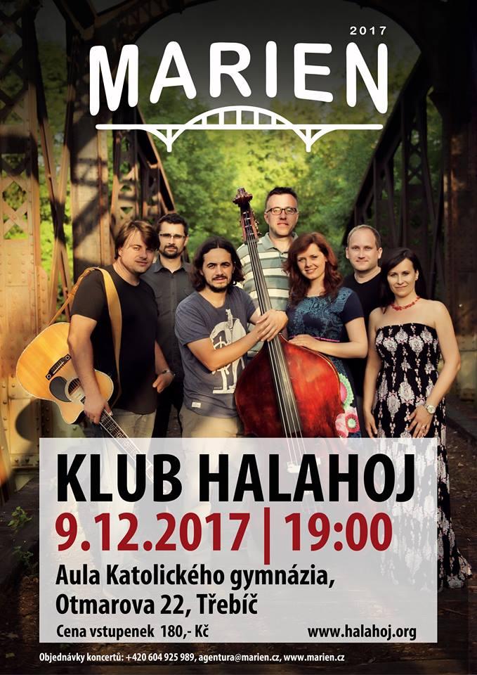 MARIEN, koncert hudební skupiny v Třebíči 1