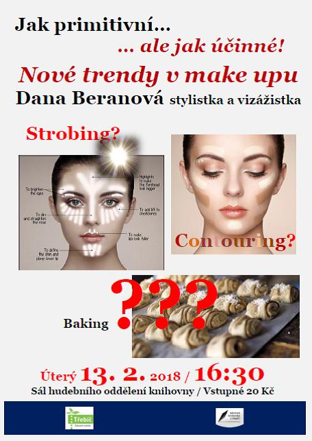 Nové trendy v make upu, přednáška Dany Beranové v Třebíči 1