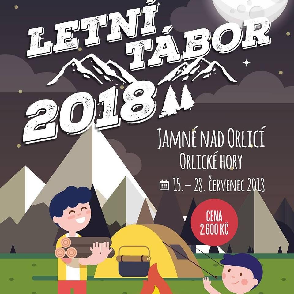 Letní tábor v Jamné nad Orlicí, Orlické hory 1