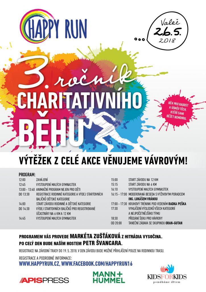 3. ročník charitativního běhu HAPPY RUN 1