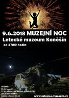 Muzejní noc v Leteckém muzeu Koněšín 1