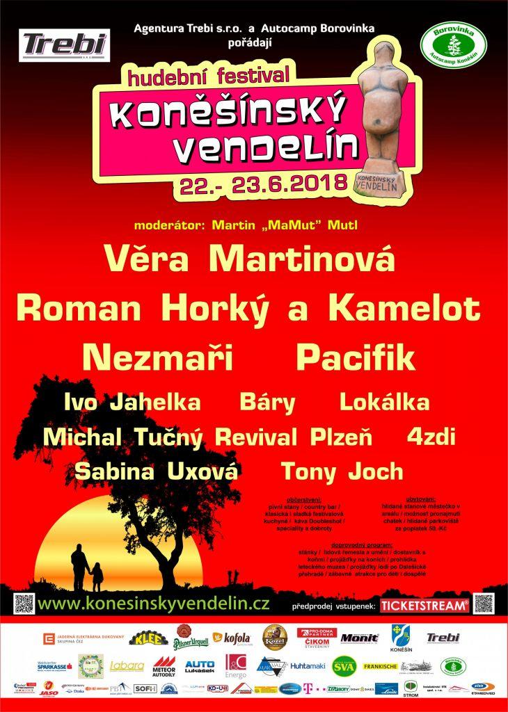 KONĚŠÍNSKÝ VENDELÍN, hudební festival 1
