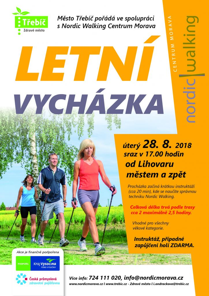 Letní vycházka s Nordic Walking 1