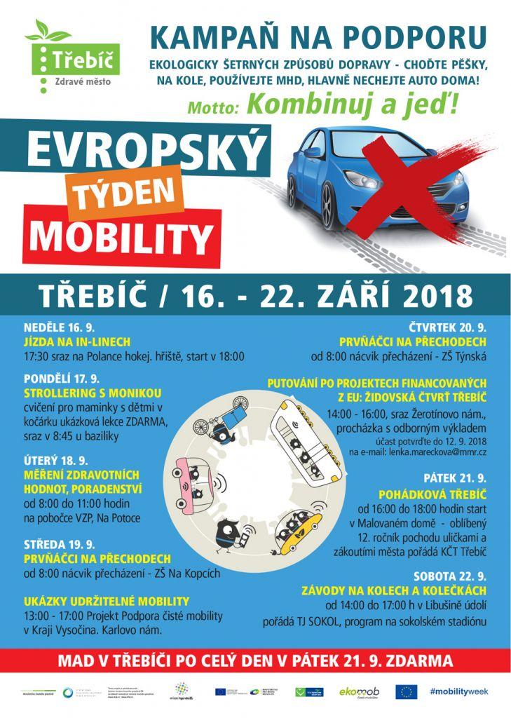 Evropský týden mobility v Třebíči 1