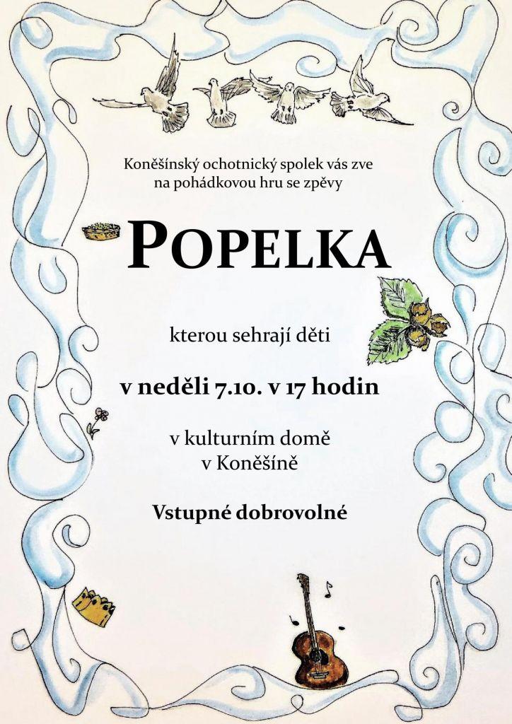 Pohádková hra se zpěvy Popelka v Koněšíně 1