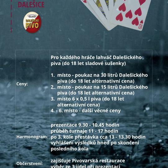 Turnaj v prší Dalešice 3